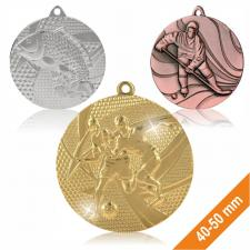 Thematic sports medals