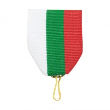 Ribbon Tricolor-embroidered